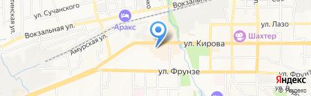 Авоська на карте Артёма