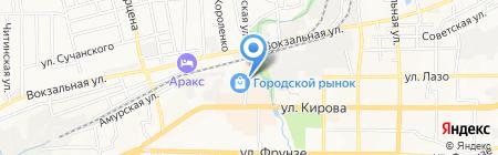 Магазин одноразовой посуды на карте Артёма