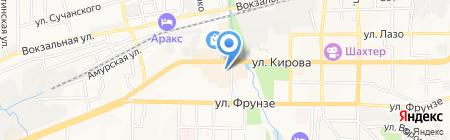 Мангуст на карте Артёма