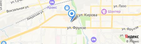 Центральный на карте Артёма