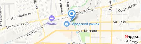 Магазин сантехники на карте Артёма