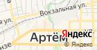Артемовский городской рынок на карте