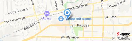 Эдем на карте Артёма