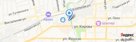 Обувной на рынке на карте Артёма