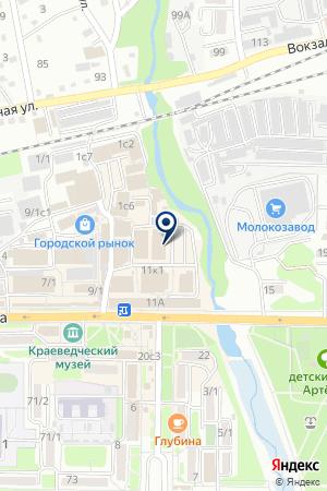 Гламур на карте Артёма
