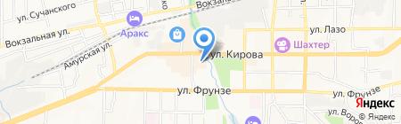Ортомед на карте Артёма