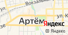Сапфир ДВ на карте