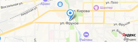 Золотая мозаика на карте Артёма