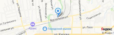 Артемовское ППЖТ на карте Артёма