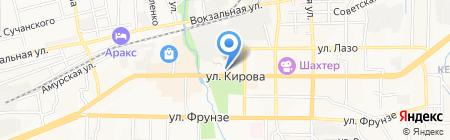 Спорт Лига на карте Артёма