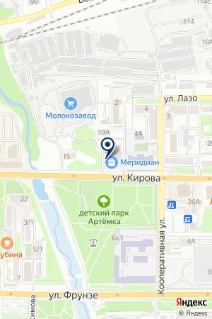 Парус на карте Артёма