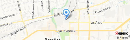 PaintBox на карте Артёма