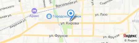 Центр творческого развития и гуманитарного образования на карте Артёма
