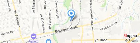 Истэк на карте Артёма