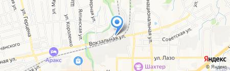 На Вокзальной на карте Артёма