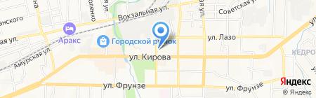 Компания бухгалтерских и юридических услуг на карте Артёма