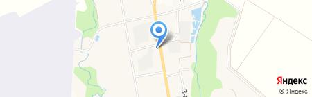 Артемовское на карте Артёма