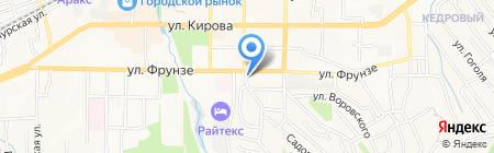 Автомотив на карте Артёма
