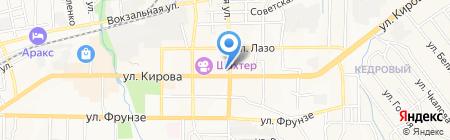 Цветочница на карте Артёма
