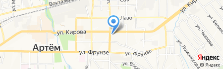 Прокуратура г. Артема на карте Артёма