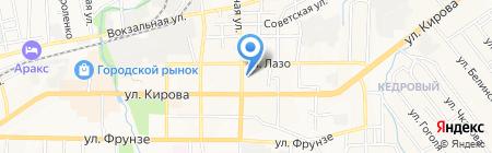 Офика на карте Артёма