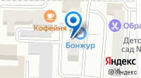 Компания Лира на карте