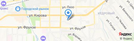 Отдел вневедомственной охраны Управления МВД России по г. Артему на карте Артёма