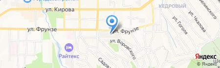 Гео-центр на карте Артёма