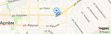 Пряжа на карте Артёма