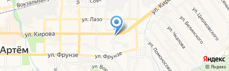 Спецназ ДВ на карте Артёма