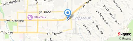 Сеть фирменных магазинов на карте Артёма