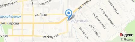 Средняя общеобразовательная школа №19 на карте Артёма