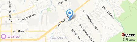 Заря на карте Артёма
