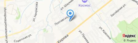 Пассажирские перевозки на карте Артёма