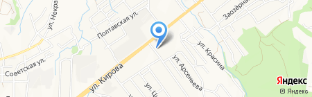 Мико на карте Артёма