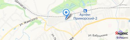AL`FA-motors на карте Артёма