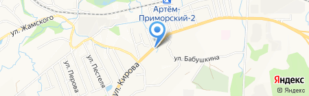 Продуктовый магазин на карте Артёма