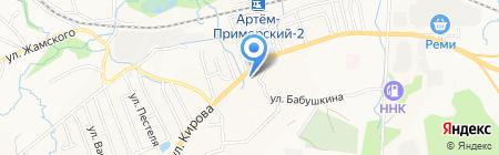 Магазин инструментов и сварочного оборудования на карте Артёма