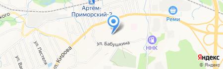 Детский сад №21 на карте Артёма