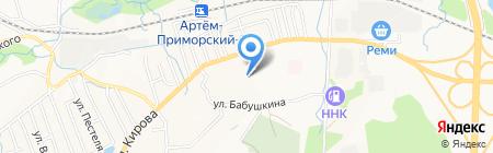 Ассоль на карте Артёма