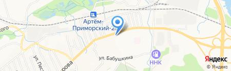Автомикс ДВ на карте Артёма