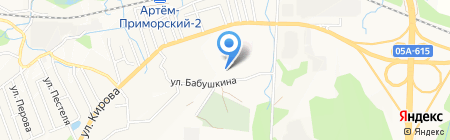 Средняя общеобразовательная школа №18 на карте Артёма