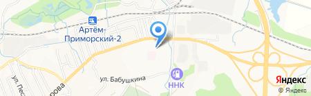 Банкомат АКБ Приморье на карте Артёма