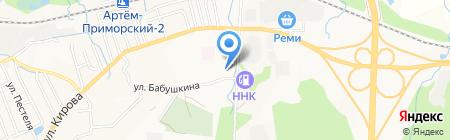 Участковый пункт полиции №6 на карте Артёма