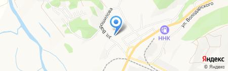 Отделение почтовой связи №14 на карте Артёма