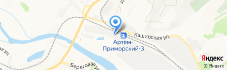Приморский Вторчермет на карте Артёма