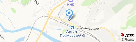 Банкомат АКБ Росбанк на карте Артёма