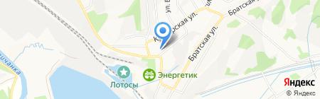 АКБ Росбанк на карте Артёма