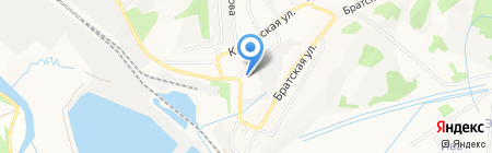 Вечерняя (сменная) общеобразовательная школа №4 на карте Артёма