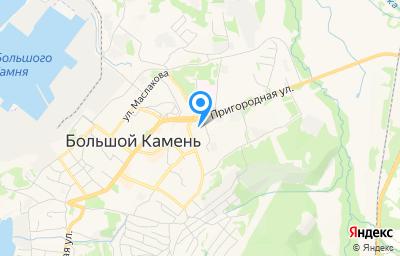 Местоположение на карте пункта техосмотра по адресу Приморский край, г Большой Камень, ул Подгорная, д 12